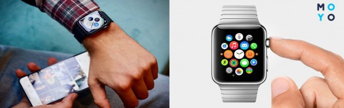 Использование Apple Watch